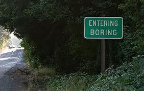 Entering Boring