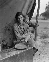 homeless mother and child great depression