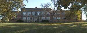old Perry Iowa junior high school