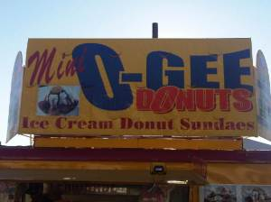 County Fair Donut Booth