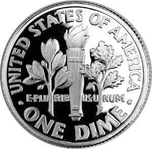 United_States_dime,_reverse